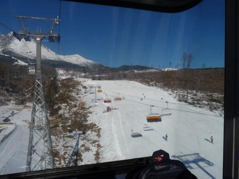 Tatranskej lomnice na lomnický štít lanovkou